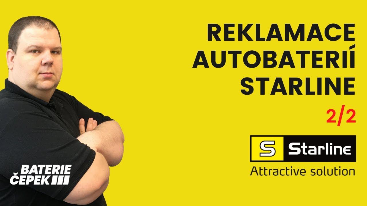 VIDEO - Reklamace nákladních autobaterií STARLINE 2/2