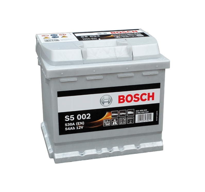 Autobaterie BOSCH S5 002 12V 54Ah 530A
