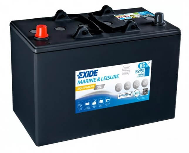 EXIDE EQUIPMENT GEL 12V 85Ah ES950