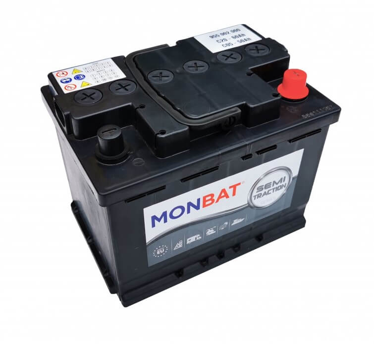MONBAT Semi-Traction 12V 60Ah MP60