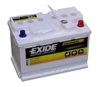 EXIDE EQUIPMENT 12V 80Ah ET550