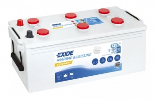 EXIDE EQUIPMENT 12V 135Ah ET950