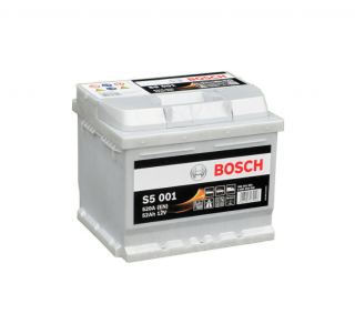 Autobaterie BOSCH S5 001 12V 52Ah 520A